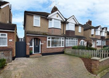 Thumbnail 3 bed semi-detached house for sale in Hillingdon Road, Watford, Hertsfordshire