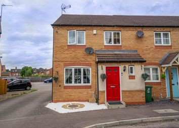 Thumbnail 3 bed town house for sale in Lawson Close, Sileby, Loughborough