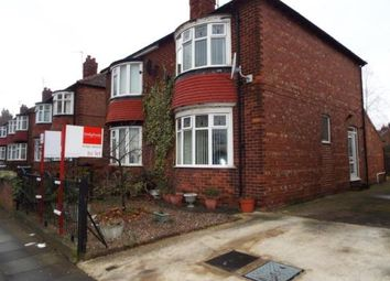 Thumbnail 2 bed semi-detached house for sale in Hollyhurst Road, Darlington, Durham