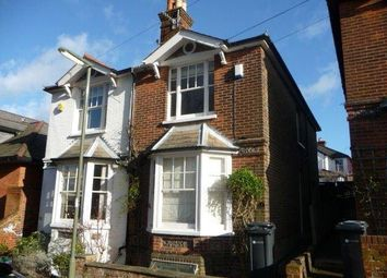 Thumbnail 2 bed semi-detached house to rent in Oxford Terrace, Guildford