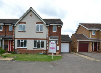Thumbnail 3 bed end terrace house for sale in Oak Drive, Brampton, Huntingdon, Cambridgeshire