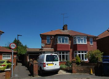 Thumbnail 3 bed semi-detached house for sale in Wellgarth, Greenford