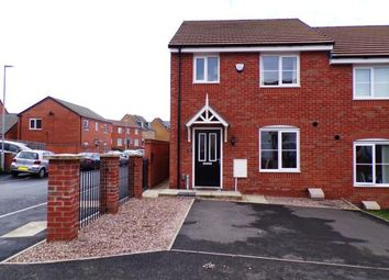 Thumbnail 3 bed semi-detached house for sale in Hebden Drive, Hamilton, Leicester, Leicestershire
