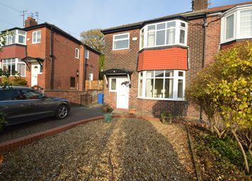 Thumbnail 3 bed semi-detached house for sale in Beckley Avenue, Prestwich, Manchester