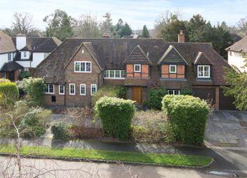 Thumbnail 5 bedroom detached house for sale in Oatlands Close, Weybridge, Surrey