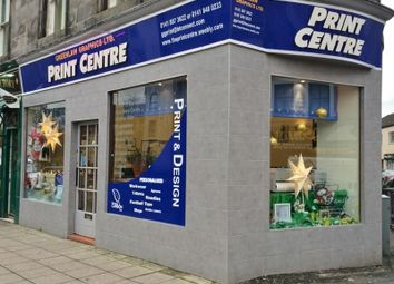 Thumbnail Retail premises for sale in 31A Gauze Street, Paisley