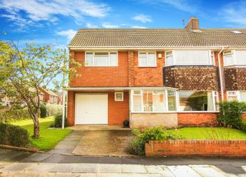 Thumbnail 5 bed semi-detached house for sale in Hatfield Gardens, Whitley Bay