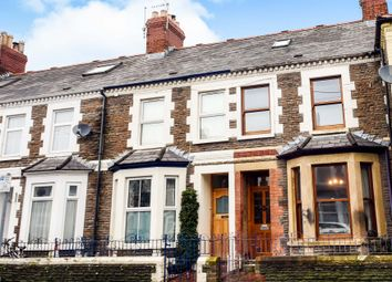 Thumbnail 3 bedroom terraced house for sale in Arran Street, Roath, Cardiff
