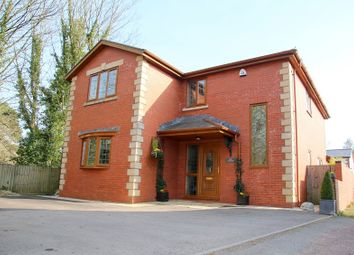 Thumbnail 4 bedroom detached house to rent in Station Road, Creigiau, Cardiff.