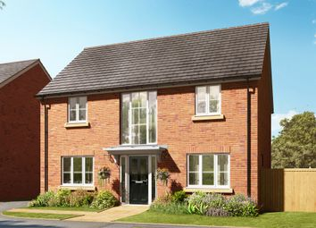 "Thumbnail 4 bed detached house for sale in ""The Lincoln"" at Barff Lane, Brayton, Selby"