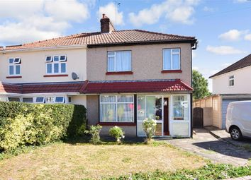 Thumbnail 3 bed semi-detached house for sale in Eastleigh Road, Bexleyheath, Kent