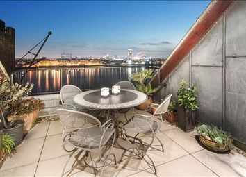 Thumbnail 3 bed flat for sale in Great Jubilee Wharf, 78 Wapping Wall, London