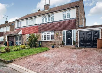 Thumbnail 3 bed semi-detached house for sale in Follett Drive, Abbots Langley