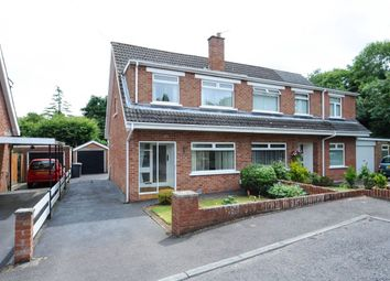 Thumbnail 3 bed semi-detached house for sale in Rockmount, Dundonald, Belfast