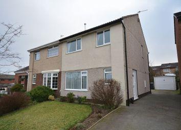 Thumbnail 3 bed semi-detached house for sale in Hawthorn Drive, Rishton, Blackburn