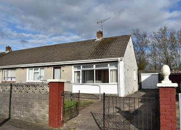Thumbnail 2 bed semi-detached bungalow for sale in Dennis Place, Bryncethin, Bridgend.