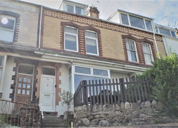 Thumbnail 4 bed terraced house for sale in Overland Road, Swansea
