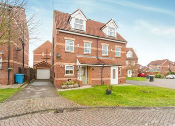 Thumbnail 3 bed semi-detached house for sale in Tatton Park, Kingswood, Hull