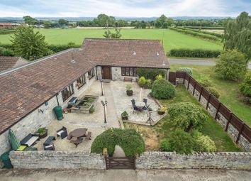 Thumbnail 4 bed detached house for sale in Mill Road, High Ham, Langport