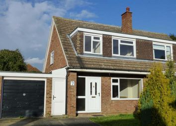 Thumbnail 3 bed semi-detached house to rent in Southland Rise, Langford, Biggleswade