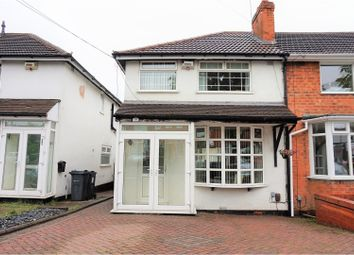 Thumbnail 3 bedroom end terrace house for sale in Birkenshaw Road, Great Barr, Birmingham