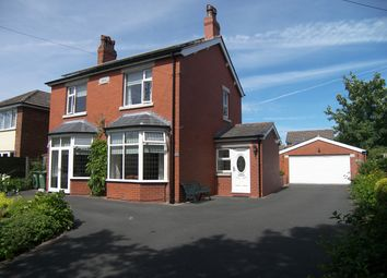Thumbnail 4 bed detached house to rent in Church Road, Warton, Preston