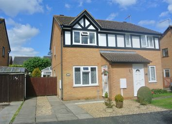 Thumbnail 2 bed semi-detached house for sale in Bakers Way, Morton, Bourne, Lincolnshire