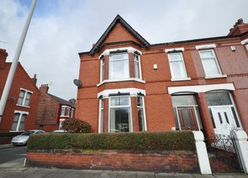Thumbnail 3 bed end terrace house for sale in Park Road North, Birkenhead