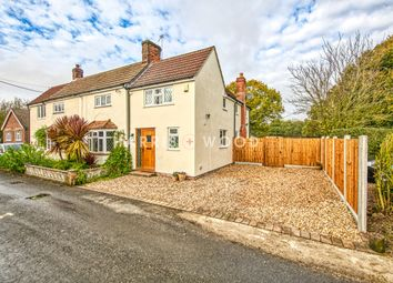 Thumbnail 4 bed semi-detached house for sale in Chapel Lane, Crockleford Heath, Colchester