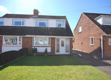Thumbnail 3 bedroom semi-detached house for sale in Chiltern Drive, West Moor, Newcastle Upon Tyne