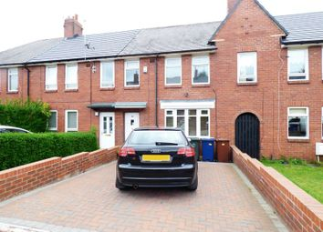 Thumbnail 3 bed terraced house for sale in Acton Place, High Heaton, Newcastle Upon Tyne