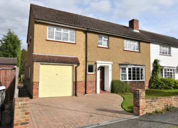 Thumbnail 5 bed semi-detached house for sale in West Farm Close, Ashtead