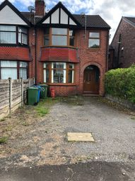 Thumbnail 4 bedroom terraced house to rent in Brooklands Rd, Crumpsall