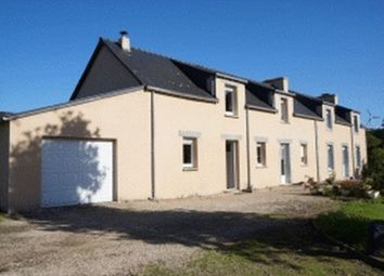 Thumbnail 4 bed detached house for sale in Brittany, Finistere, Nr Plouye