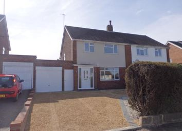 Thumbnail 3 bed semi-detached house to rent in Rowallen Drive, Bedford