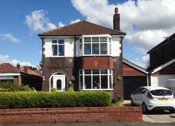 Thumbnail 3 bed detached house for sale in Preesall Avenue, Cheadle, Cheshire
