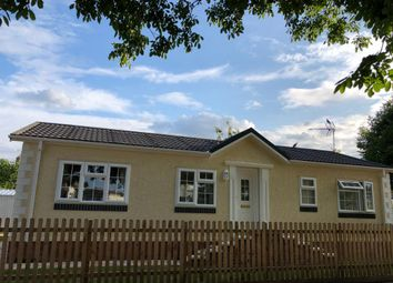 Thumbnail 2 bed mobile/park home for sale in Orchard Park, Shouldham, King's Lynn