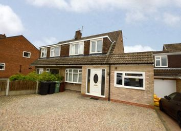 Thumbnail 4 bed semi-detached house for sale in Kentmere Avenue, Garforth, Leeds