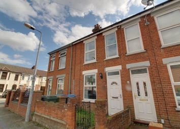 Thumbnail 3 bed terraced house to rent in Coronation Road, Ipswich