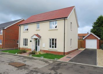 Thumbnail 3 bed detached house for sale in Burghwood Yard, Mileham, King's Lynn