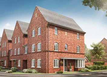 "Thumbnail 4 bedroom town house for sale in ""The Houghton"" at Kiln Drive, Stewartby, Bedford"