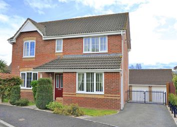 Thumbnail 4 bed detached house for sale in Windsor Close, Cullompton