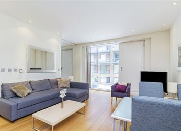 Thumbnail 1 bed flat to rent in Hirst Court, Grosvenor Waterside, Gatliff Road, London