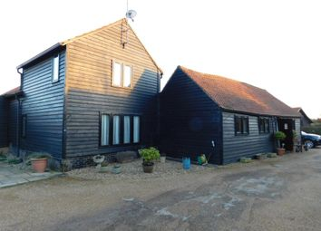 Thumbnail 3 bed barn conversion for sale in Steeple Barn, Church Farm Lane, Steeple Morden, Cambridgeshire