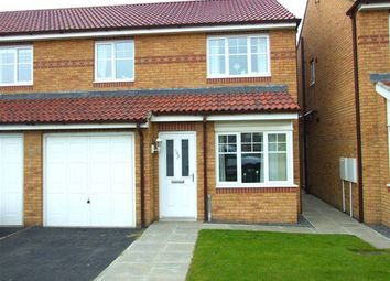 Thumbnail 3 bed property to rent in Haydon Drive, Hadrian Village, Willington Quay