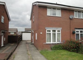 Thumbnail 2 bedroom semi-detached house to rent in Larkin Avenue, Meir Hay, Stoke-On-Trent