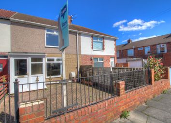 Thumbnail 2 bed terraced house for sale in Hazelwood Avenue, Newbiggin-By-The-Sea