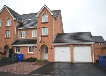 Thumbnail 3 bed town house to rent in Lychgate Close, Stoke, Stoke-On-Trent