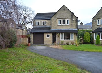 Thumbnail 4 bed detached house for sale in Lower Frenches Drive, Greenfield, Oldham