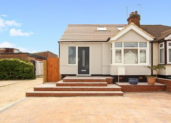 Thumbnail 4 bed bungalow for sale in Croyde Avenue, Greenford